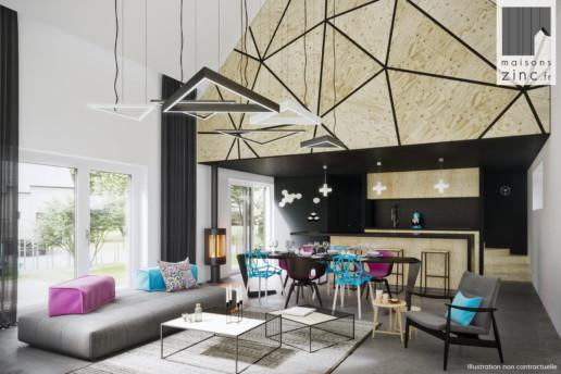 interieur zinc design